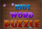 Word Puzzle Enfants