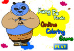 Kung Fu Panda Online kolorit spel