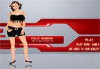 Kylie Minogue Dressup Game