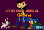 Life and Time of Juniper Lee Online Coloring Game
