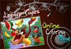 looney-tunes on-line Colorazione gioco