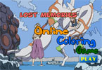 Lost Memories Online Coloring Page