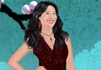 Lucy Liu dress up