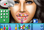 megan fox en el dentista