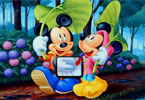 Mickey and Friends Hitta Alfabet