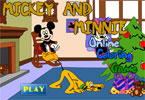 Mickey and Minnie Online Coloring Game