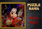 Mickey Mania puzzle magique