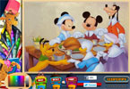 Mickey\'s dankzegging partij