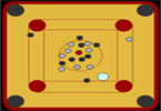 Mini Carrom Board
