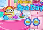 Minion Girl Spa Day
