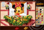 Minnie Mouse Online Colorazione Pagina