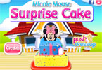 minnie mouse tarta de sorpresa