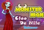 monster high cleo de nile Make-up