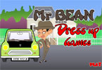 Mr Bean Dressup Game