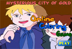 Mysterious Cities of Gold Online Coloring Game