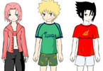 Naruto And Friends Dressup