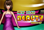 New Year Beauty Dressup