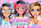 New Year Pj Party Makeover