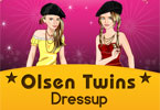 Olsen Twins Celebrity Dress Up
