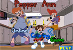 Pepper Ann Online Coloring Game