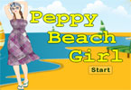 Peppy Beach Girl