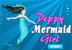 Peppy Mermaid Girl