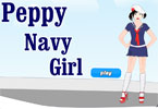 Peppy Navy Girl