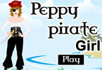 Peppy Pirate Girl
