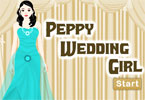 Peppy Wedding Girl
