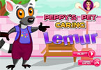 Peppy's Pet Caring - Lemur