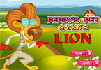 Peppy's Pet Caring Lion