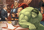 Photo-mess Hulk With Friends