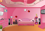 Pinkys rosa room decor