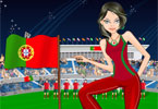 Portugal Fan Dressup