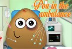 pou in de ambulance