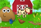 Pou In the Farm