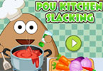 Pou Kitchen Slacking