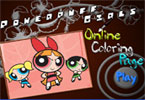 Powerpuff Girls Online Coloring Page