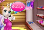 Pregnant Talking Angela Shopping Time