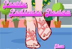 Pretty Pedicure Design