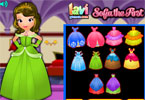 Princess Sofia Royal Dress Up