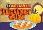 pastel de calabaza de Halloween