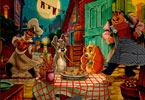 Puzzle Mania Lady and The Tramp