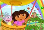 Puzzel Manie flying dora