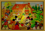 Fix The Puzzle Mickey Garden