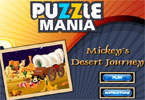 Puzzle Mania Mickeys woestijnreis