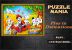 Puzzle Mania Play in Dalmations