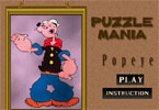 Puzzle Manie Popeye