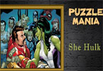 Puzzle mania lei hulk