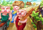 Puzzle Mania Three Little Pigs